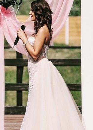 Продам роскошное,свадебное платье, модель brigitte