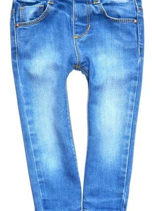 Zara baby джинсы скинни на девочку 9-12 мес. рост 78 см.
