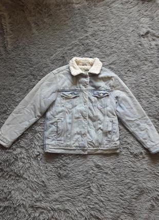 Джинсовая куртка, джинсовка с утеплением