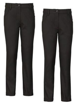 Школьные брюки top class на девочку 12 лет с тефлоновым покрытием