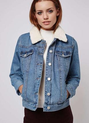Джинсова куртка miss selfridge