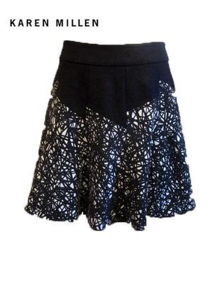 Плотная вискозная юбка karen millen