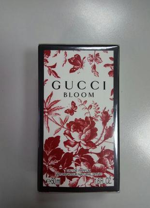 Оригинал духи gucci bloom, 50ml