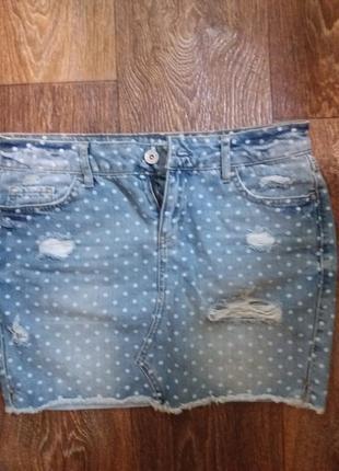 Джинсовая юбка collins jeans