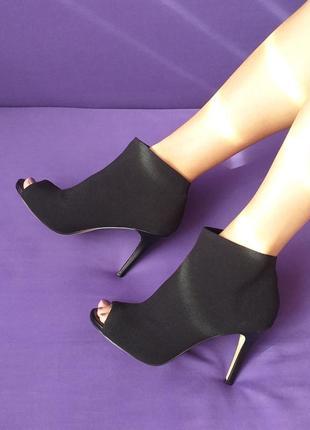 Fergalicious ботильоны туфли на шпильке с открытым носком бренд оригинал из сша