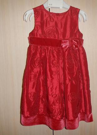 Платье bambini р.86см(12-18мес)