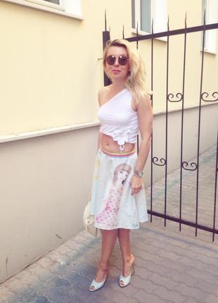 Стильная юбка fornarina