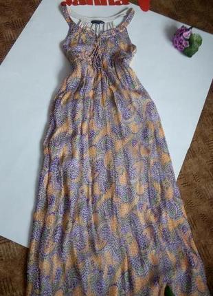 Платье сарафан 48 размер макси бюстье топ скидка sale french connection
