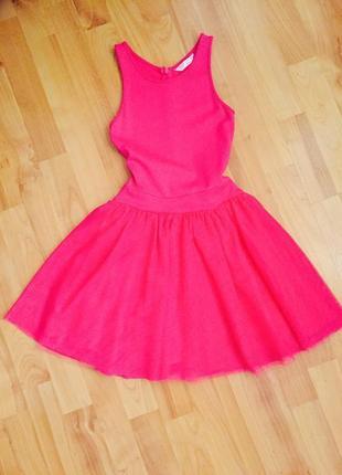 Платье baby-doll коктейльное