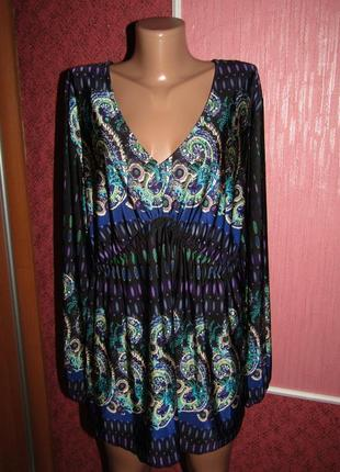 Блуза кофточка большой р-р 18-20 сост новой bodyflirt