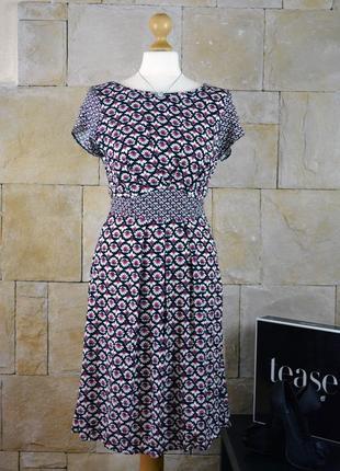 Акция 1+1=3! -платье в геометрический принт от george -размер s