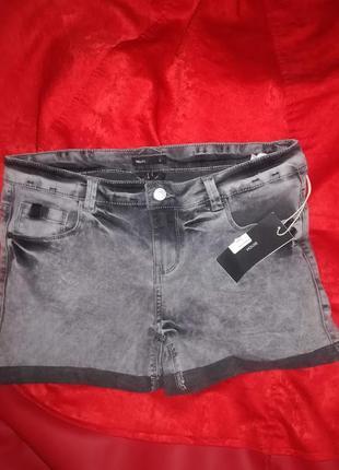 Шорты джинсовые befree новые l (серые)