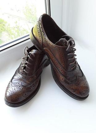 Оксфорды, туфли lavorazione artigianale