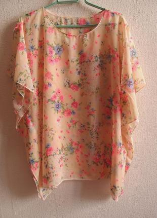 Нежнейшая блуза большого размера