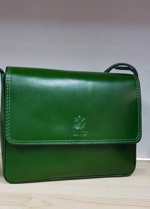 Кожаная сумочка италия vera pelle
