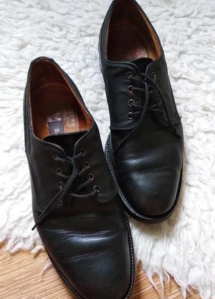 Кожаные туфли оксфорды bally