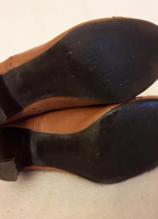 Стильные кожаные туфли броги фирмы next p. 37 стелька 24 см5 фото
