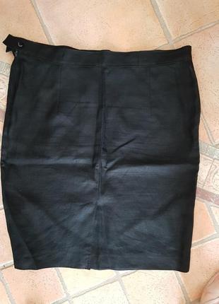 Миди юбка большого размера marella лён