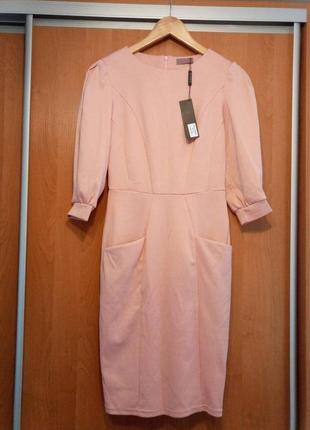 Трикотажное платье с карманами grand ua