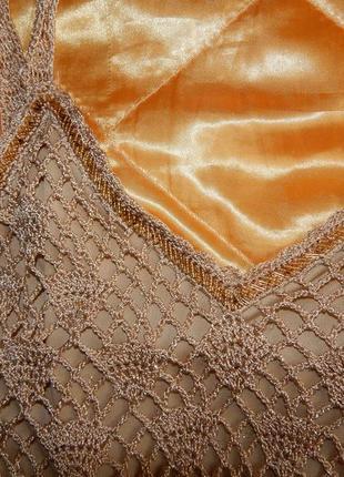 Платье сетка(плетеное) вариант для пляжных прогулок top shop