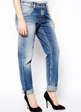 Джинсы бойфренд pepe jeans