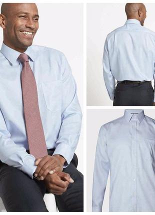 Рубашка сорочка классическая офисная от m&s