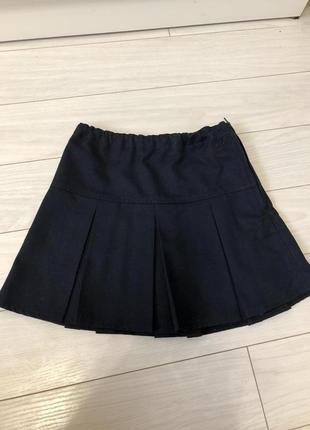 Школьная юбка некст 8 лет