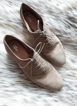 Шикарные туфельки оксфорды...натуральная кожа