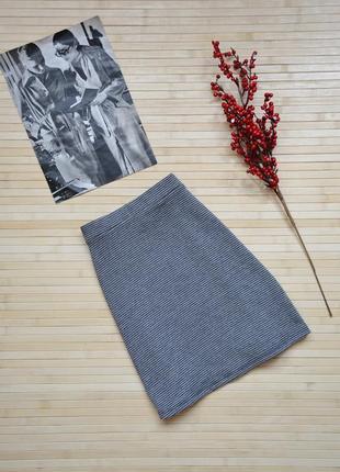 Расклешенная юбка в гусиную лапку bershka