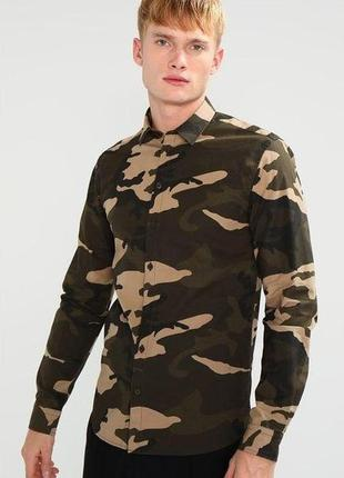 Рубашка в стиле милитари (камуфляж) minimum