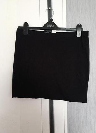 Трикотажная юбка от h&m