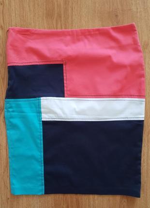 Классическая юбка-карандаш bricchino 100% котон