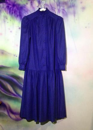 Винтажное платье laura ashley.бунтарская женственность1 фото