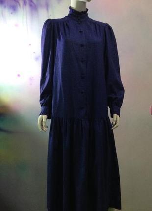 Винтажное платье laura ashley.бунтарская женственность4 фото