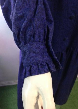 Винтажное платье laura ashley.бунтарская женственность7 фото