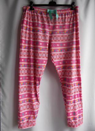Пижамные штанишки marks&spenser из хлопка,евро р-р 16-18/44-46, наш 52-54