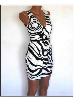 S- jane norman- трикотажное платье с юбкой тюльпан, новое
