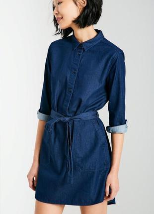 🌿 джинсовое платье рубашка от jack wills