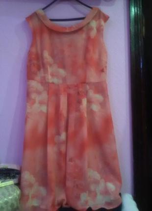 Шикарное нарядное платье королевского размера от collection