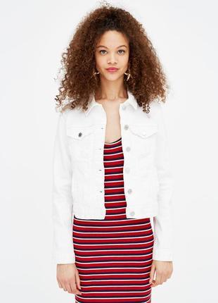 Отличная модная джинсовая куртка pull&bear oversize