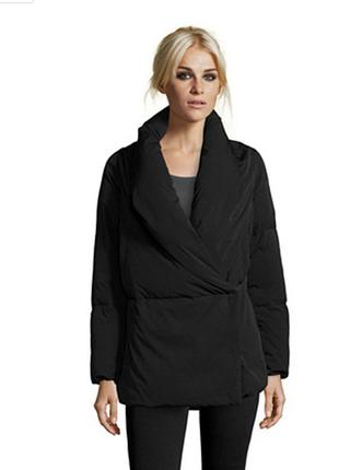 Оригинал. 100% пух. ультрамодный пуховик-кимоно add куртка, италия it42. одеяло. чёрный