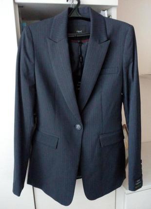 Новый приталеный пиджак next tailoring