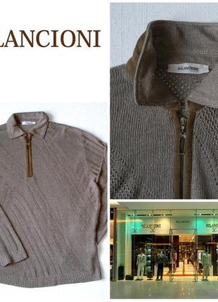 Bilancioni мужской льняной свитер 52 р