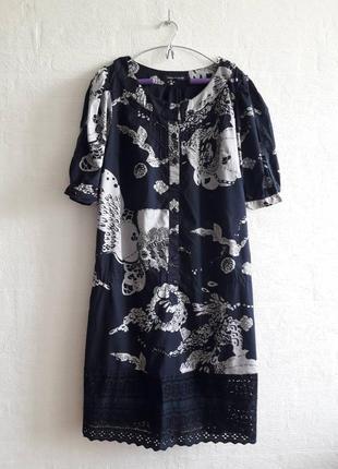Стильное платьеце,бренда french connection, подойдет на 50,52,54 р.