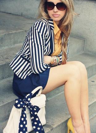 Пиджак полосатый h&m
