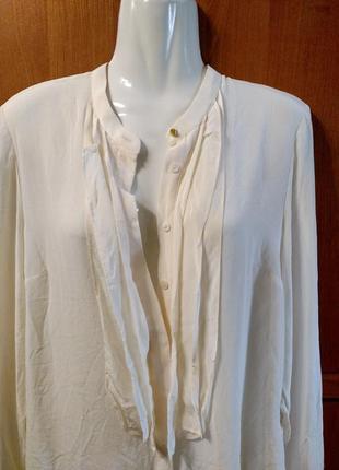 Блуза шелк айвори италия