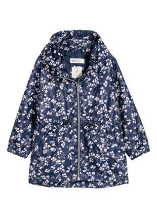 Куртка вітрівка для дівчаток від h&m з іспанії (98, 116)