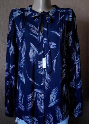 Блузка на пуговицах размер 14-16 marks&spencer