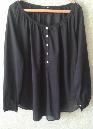 Невесомая блузка из натуральной ткани,