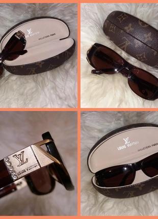Солнцезащитные очки камни с чехлом